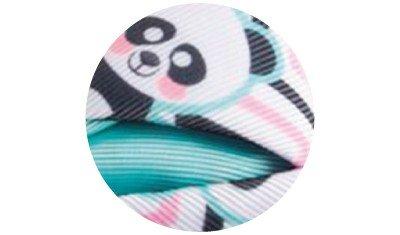faixa panda azul descricao